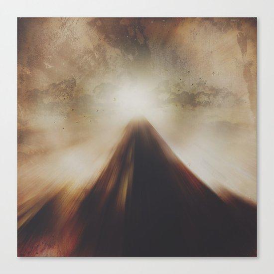 The mountains we climb Canvas Print