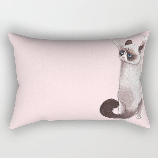 Grumpy Hang Rectangular Pillow
