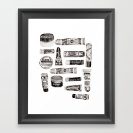 Lipbalm Collection Framed Art Print