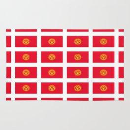 flag of Kyrgyzstan -Kirghizia,Кыргызстан, Киргизия,Кыргыз, Kyrgyzstani,Kyrgyz,Bishkek Rug