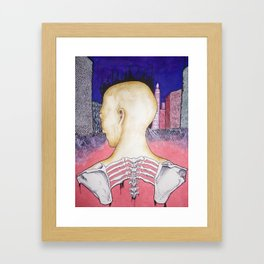 Caught In a Beehive Framed Art Print