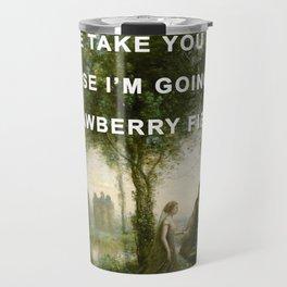 Orpheus Leading Eurydice to Strawberry Fields Travel Mug