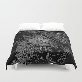 Vienna map Duvet Cover