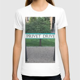 Privet Drive Sign T-shirt