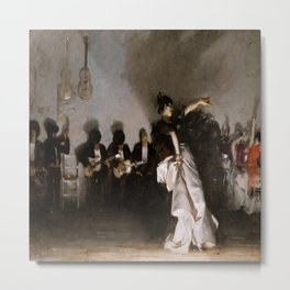 John Singer Sargent's El Jaleo Metal Print