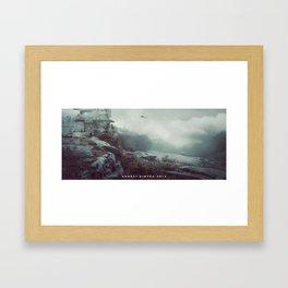 Battlestation Framed Art Print