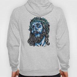 The Blue Jesus  Hoody