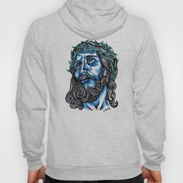 The Blue Jesus  Hoody