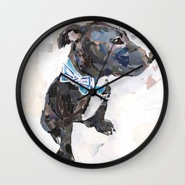 Ollie for Friends of the Shelter Wall Clock