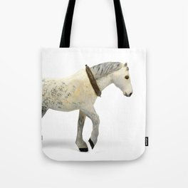 Wooden Plow Horse Tote Bag