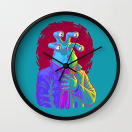 Oh, Goodness! Wall Clock