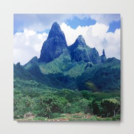 The Land That Time Forgot: Marquesas Tropical Islands Metal Print