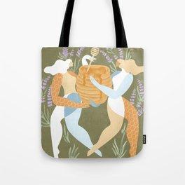 Milk & honey Tote Bag
