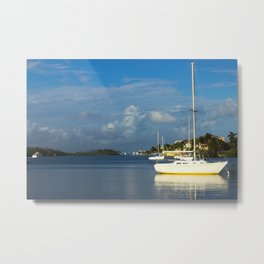 Over the Bay Metal Print