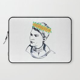 Cassandra Flower Crown Laptop Sleeve