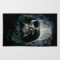 vader Area & Throw Rugs featuring Vader by Sirenphotos