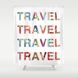 Travel Shower Curtain