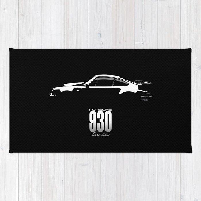 1980 930 Turbo Rug
