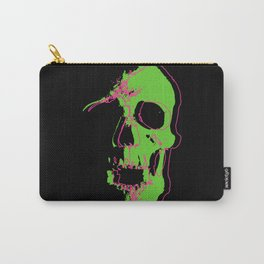 Skull - Neon Carry-All Pouch