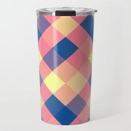 Squared abstraction Travel Mug