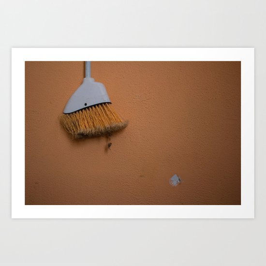 Broom Art Print