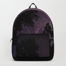 Busy Sky - Shooting Stars, Planes and Satellites in Colorado Night Sky Backpack