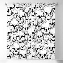 So Many Skulls... Blackout Curtain