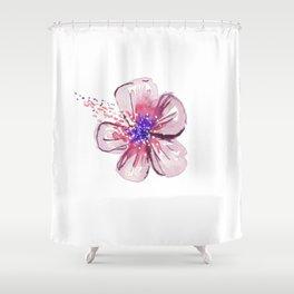 Little Lilac Flower Shower Curtain