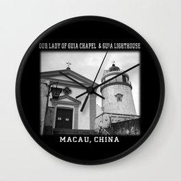 Macau Church Wall Clock