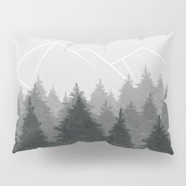 Fading Forests Pillow Sham