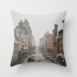Streets of New York vol. 02 Throw Pillow