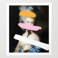 Brutalized Gainsborough 2 Art Print
