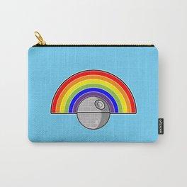 Death Star Rainbow Carry-All Pouch