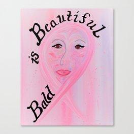Bald is Beautiful Canvas Print