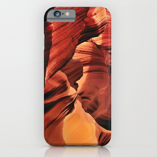 Curves. Low Antelope Canyon, Arizona, USA iPhone & iPod Case