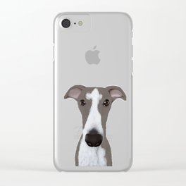 Whippet Clear iPhone Case