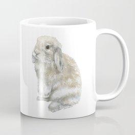 Lop Rabbit Watercolor Painting Bunny Coffee Mug