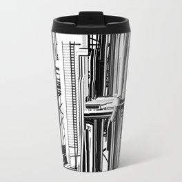 Abstract City #2 Travel Mug