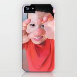 Shy Jonah iPhone Case