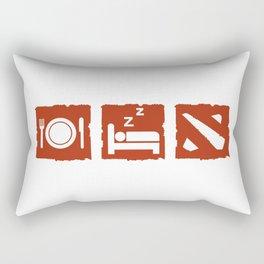 eatsleepdota Rectangular Pillow
