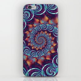 Spirals and Twisters iPhone Skin