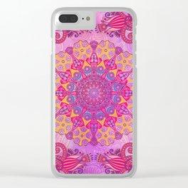 Mandala or something Clear iPhone Case