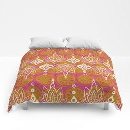 lotus diamond pink Comforters