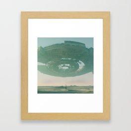 BREACH (everyday 02.23.17) Framed Art Print
