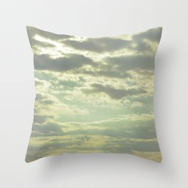 Wind and Tide Throw Pillow