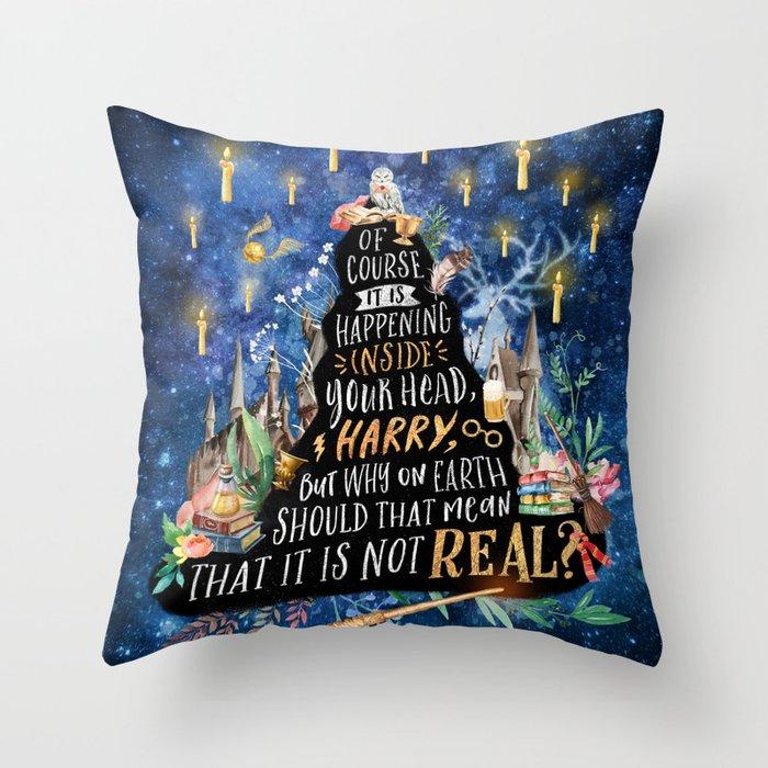 Of course Throw Pillow