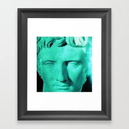 the hero Framed Art Print