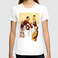 muppets T-shirts featuring Bert & Ernie Muppets by joshuahillustration