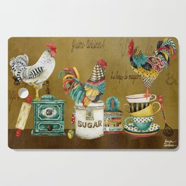 Roosters Majestic Cutting Board