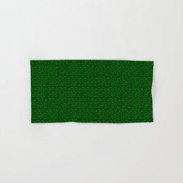 Binary Green Hand & Bath Towel